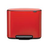 Мусорный бак Bo  (3 x 11 л), Пламенно-красный, артикул 121029