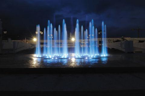 Светильник для фонтана ULR800-RGBW Ring Light LED 36W/12LED/12-24VDC/1 1/2