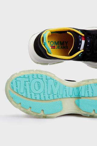 Женские черные кроссовки TOMMY JEANS FLATFORM Tommy Hilfiger