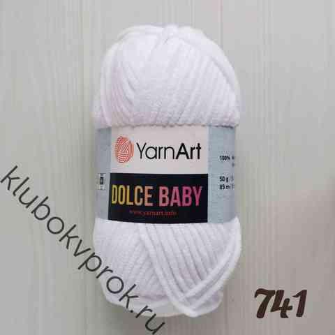 YARNART DOLCE BABY 741, Белый
