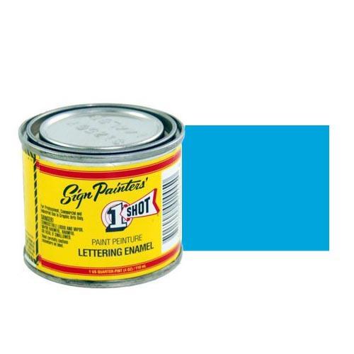 Пинстрайпинг (pinstriping) 153-L Эмаль для пинстрайпинга 1 Shot Голубой (Process Blue), 118 мл ProcessBlue.jpg