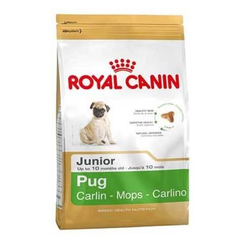 ROYAL CANIN Сухой корм для щенков породы мопс Pug Junior
