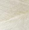 Пряжа Alize Bamboo Fine 01 (Молочный)