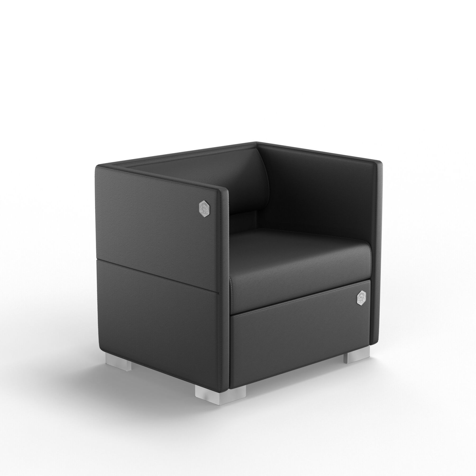 Мягкое кресло KULIK SYSTEM LOUNGE Кожа 1