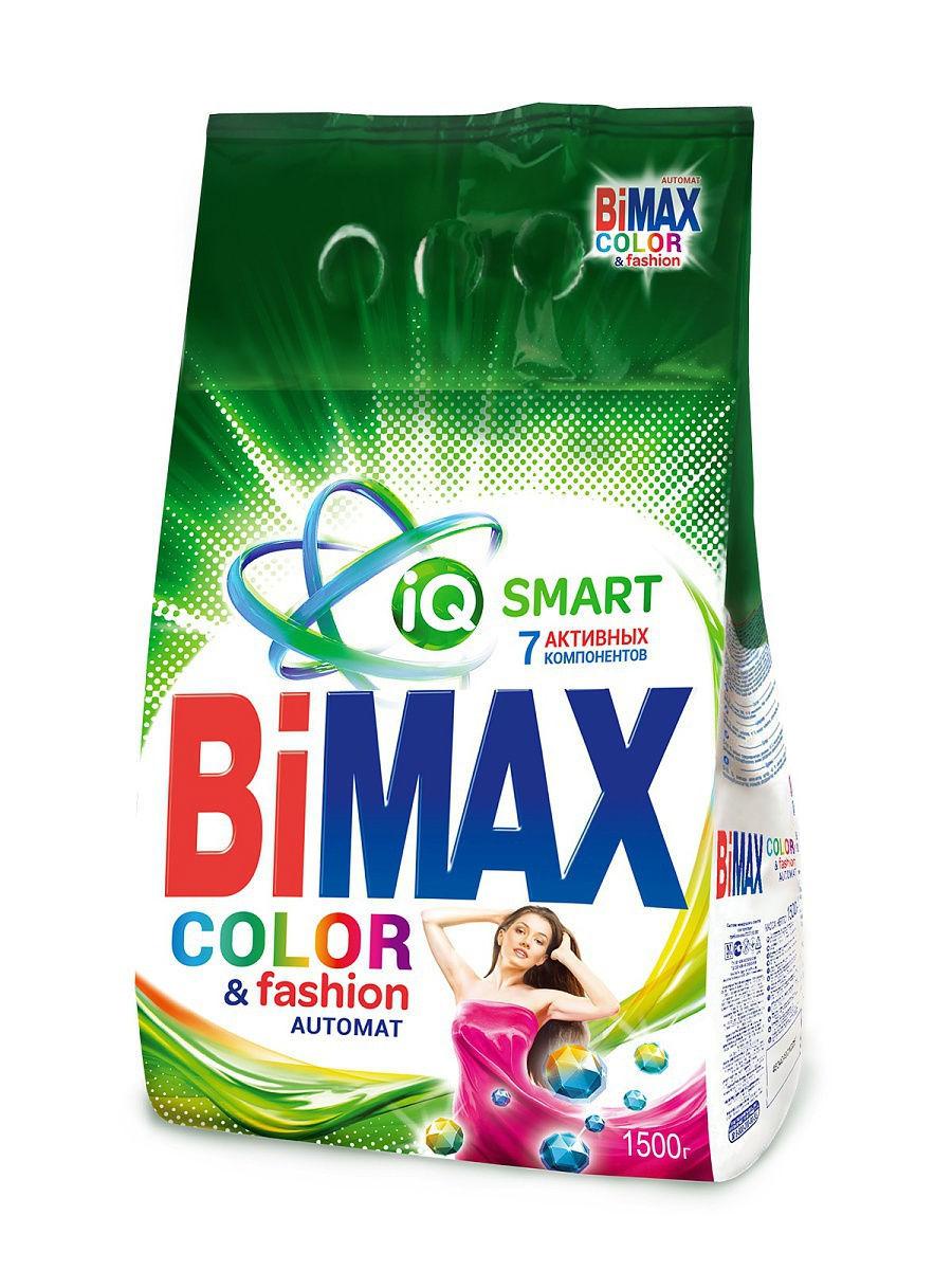 Стиральный порошок BiMAX Color 1,500 кг