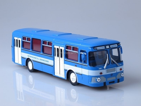 LIAZ-677M Traffic Safety Soviet Bus (SOVA) 1:43