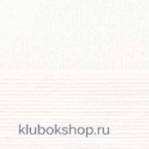 Пряжа Детская объемная (100 г/ моток) Пехорка 01 Белый - купить в интернет-магазине недорого klubokshop.ru