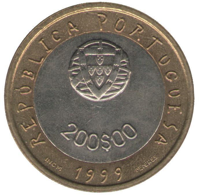 200 эскудо 1999 год
