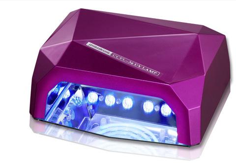 Лампа гибридная CCFL+Led 36 Вт фиолетового цвета с магнитным дном