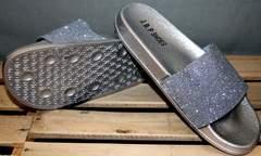 Стильные шлепанцы J.B.P. Shoes Nu1213 Silver.