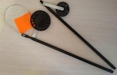ЖЕРЛИЦА на стойке оснащенная с большой кат. d=90mm, РБ