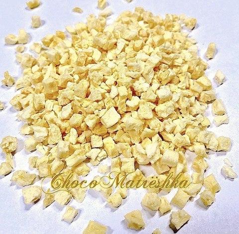 Сублимированный ананас кусочки 1-5 мм