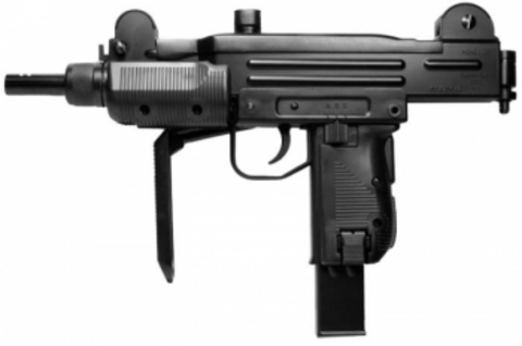 Пистолет-пулемёт пневматический Swiss Arms MINI UZI металл