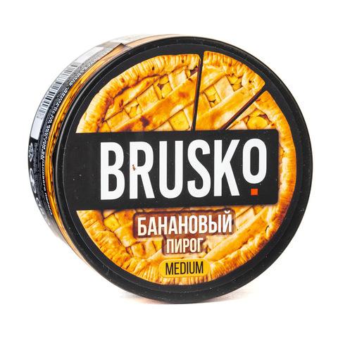 Кальянная смесь BRUSKO 250 г Банановый Пирог