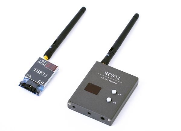 Комплект FPV 5.8 Boscam TS832 + RC832