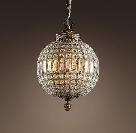 Подвесной светильник копия 19th C. Casbah Crystal Chandelier 12