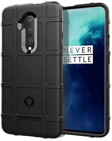 Чехол для OnePlus 7T Pro цвет Black (черный), серия Armor от Caseport