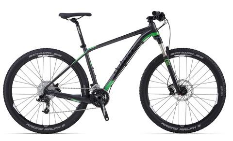 Giant XTC 27.5 1 (2014) черный с зеленым