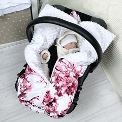 СуперМамкет. Конверт-одеяло всесезонное Мультикокон ®, сакура розовый вид 2