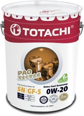 Extra Fuel Economy 0W-20 TOTACHI масло моторное синтетическое (20 Литров)