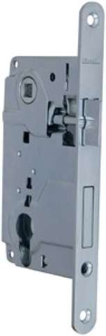 Замок механический LH 25-50 CP 1 ригель + защелка с ответной планкой