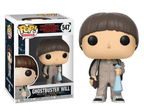 Фигурка Funko POP! Vinyl: Stranger Things S3: Will Ghostbusters 21488