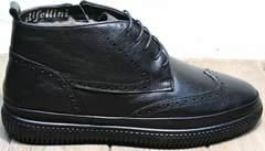Ботинки мужские классические зимние Rifellini Rovigo C8208 Black