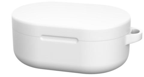 Чехол на Xiaomi Airdots силиконовый (белый)