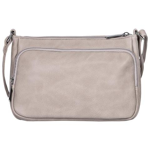 Небольшая сумка серого цвета