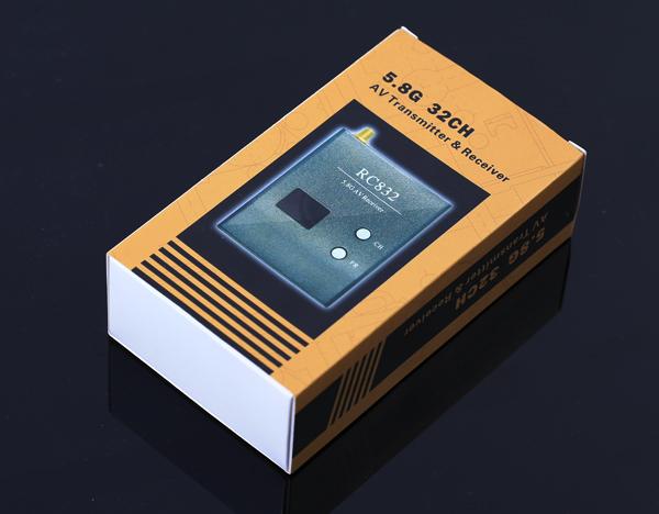 Комплект FPV 5.8 Boscam TS832 + RC832 в коробке