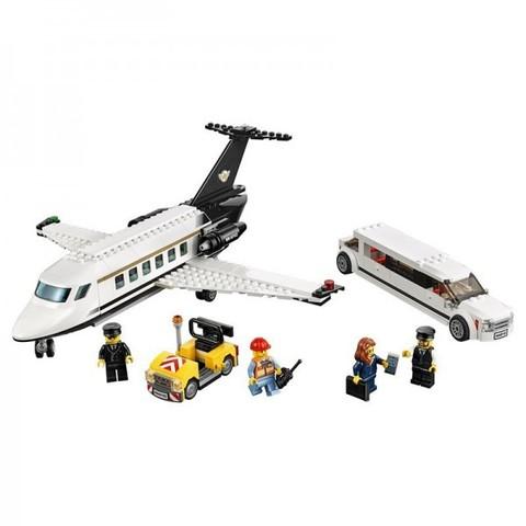 LEGO City: Служба аэропорта для VIP-клиентов 60102 — Private Jet And Limousine Airport VIP Service Building Kit — Лего Сити Город