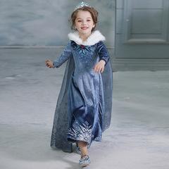 Бархатное платье Эльзы из м/ф