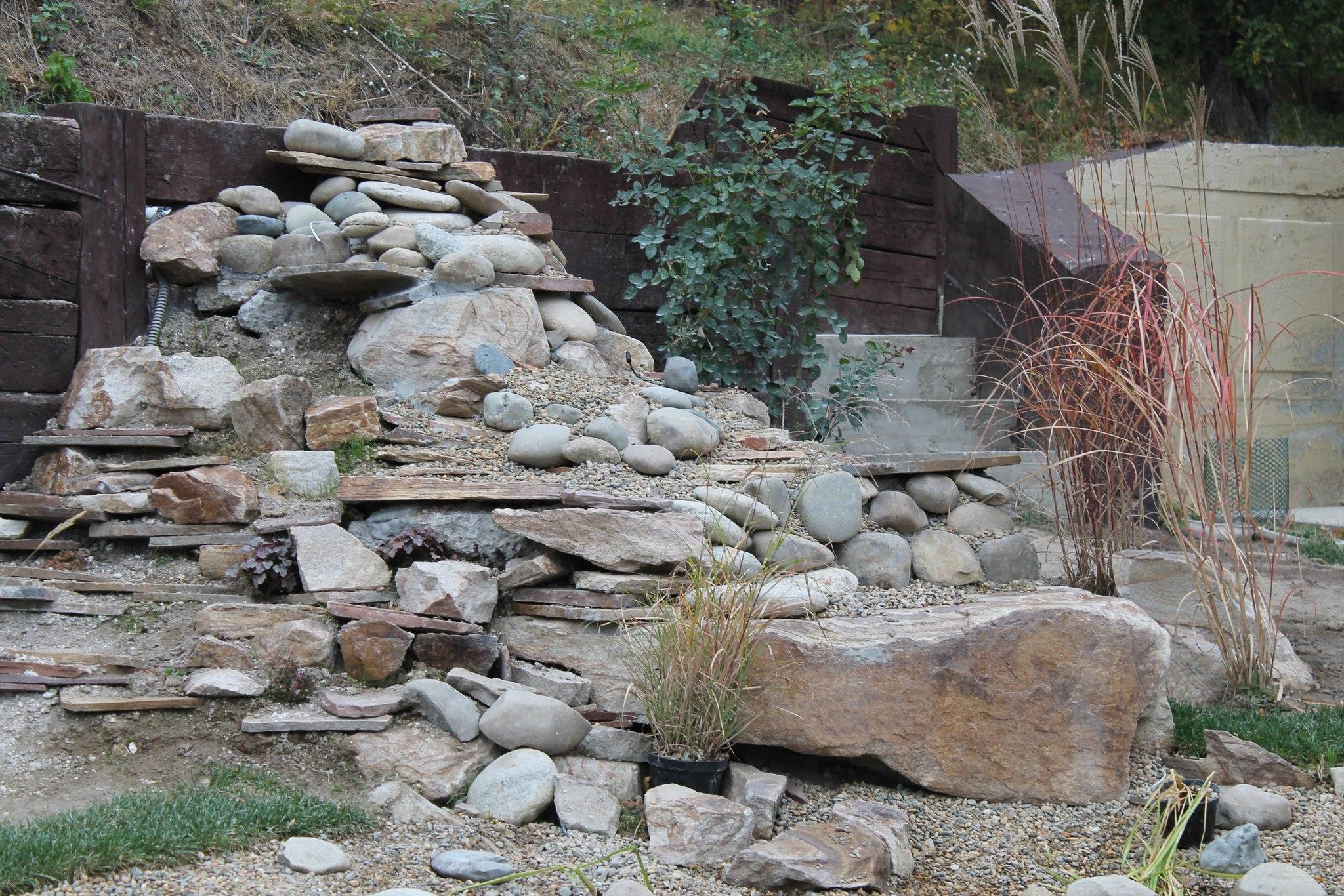Бутовый камень ландшафтный Ясень в ландшафтном дизайне