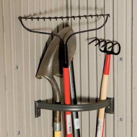 Угловой держатель инструментов для сарая WoodLook