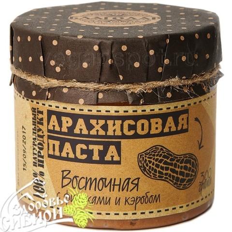 Арахисовая паста Восточная с финиками и кэробом, 300 г