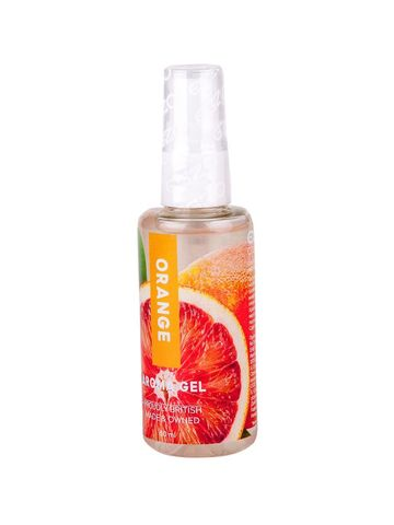 Интимный лубрикант Egzo Aroma с ароматом апельсина - 50 мл.