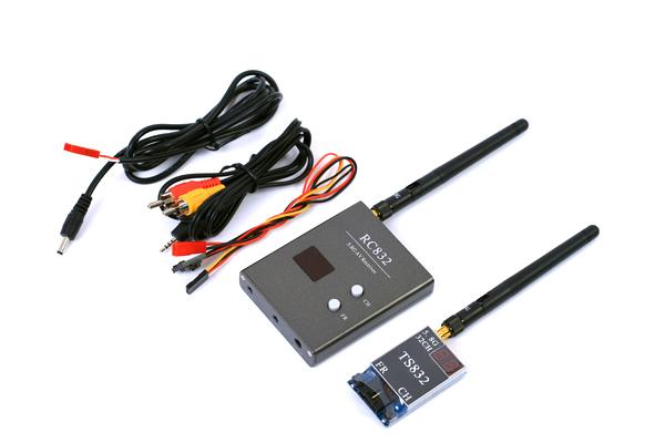 Комплект FPV 5.8 Boscam TS832 + RC832 комплектация