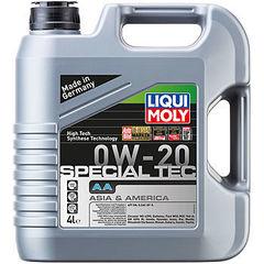 8066 LiquiMoly НС-синт.мот.масло Special Tec AA 0W-20 SN;ILSAC GF-5 (4л)