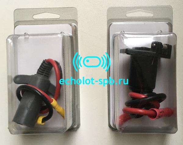 Motoguide power plug+receptackle inbox вилка и розетка в блистерах