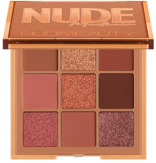 HUDA BEAUTY Obsessions Nude Medium палетка теней