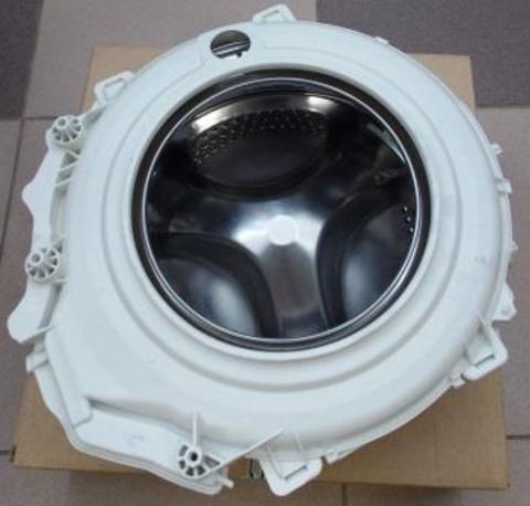 Бак в сборе с барабаном стиральных машин Индезит/Аристон 118020