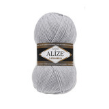 Пряжа Alize Lanagold 684 светло-серый