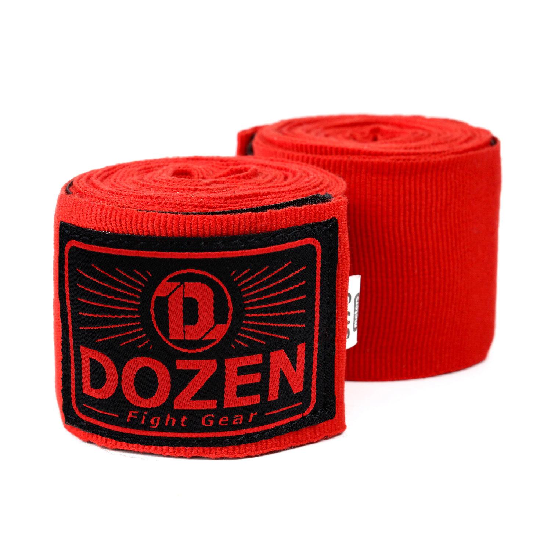 Бинты Dozen Monochrome Semi-elastic Total Red главный вид