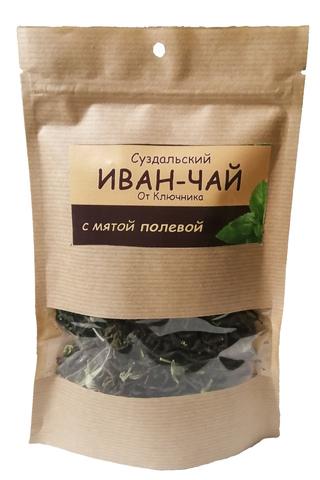 Иван-чай суздальский «с мятой полевой»