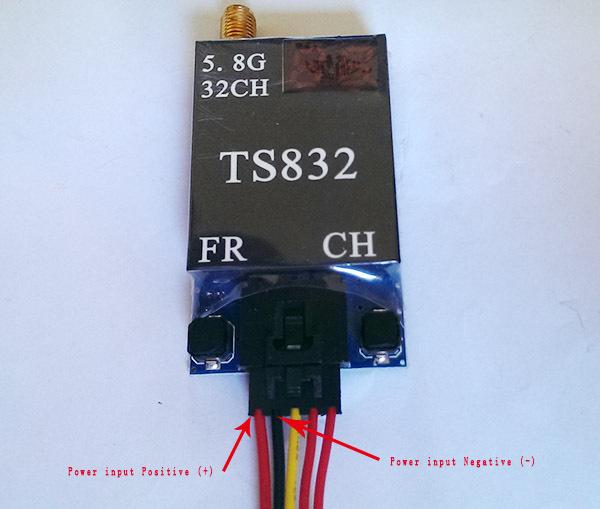 TS832 подключение проводов