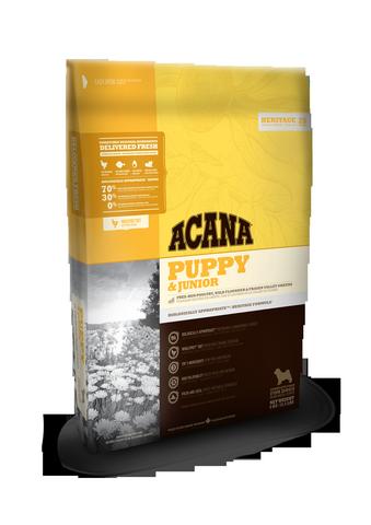 Сухой корм Корм Acana Heritage Puppy & Junior для щенков всех пород NS_Heritage_dog_puppy_and_junior-fr.png