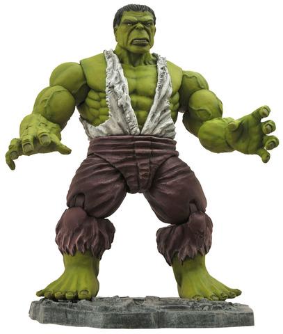 Savage Hulk. Marvel Select Figure || Коллекционная фигурка Дикий Халк