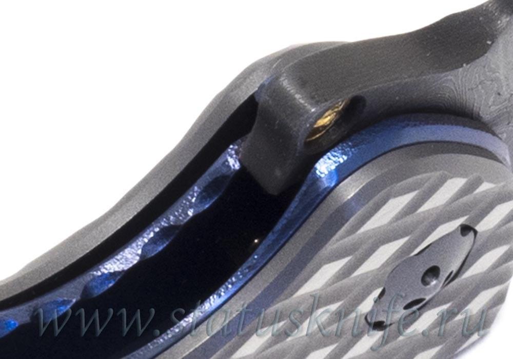 Нож Silver Fox Ti Flipper Кастом - фотография