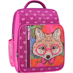 Рюкзак школьный Bagland Школьник 8 л. 143 малиновый 512 (0012870)