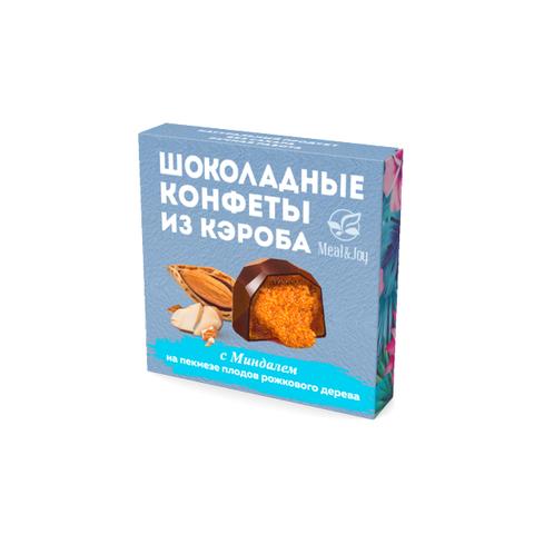 Шоколадные конфеты из кэроба с Миндалём (дроблёным), 60 г